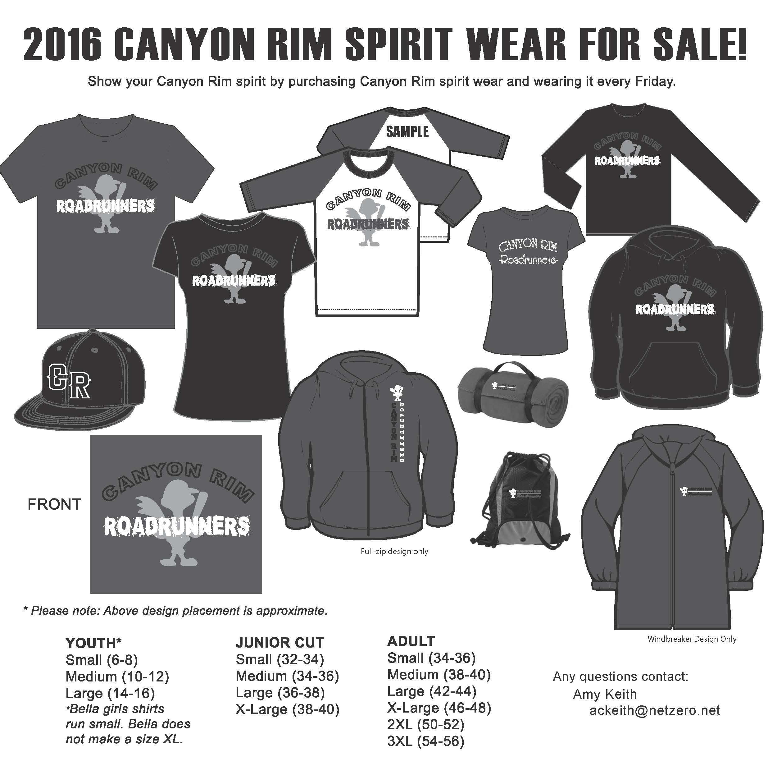 2016 - CANYON RIM FLYER